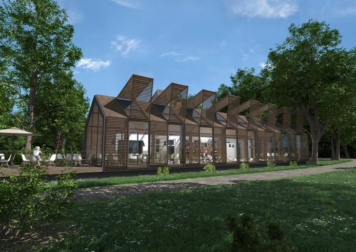 villa vredelust - visualisatie renovatie villa