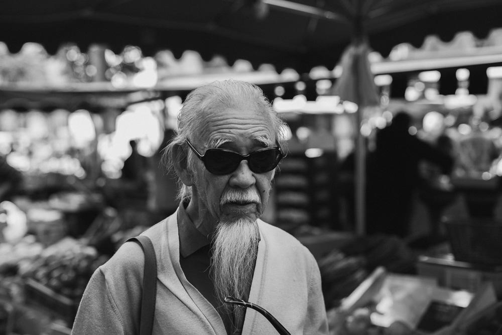 ηλικιωμένος με μεγάλο μούσι