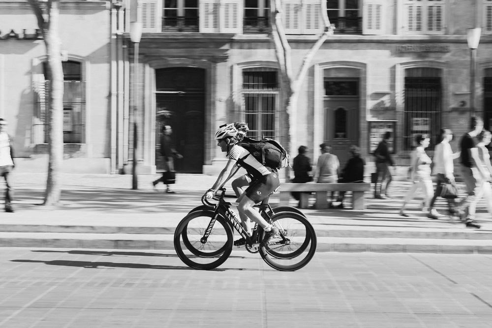 δύο ποδηλάτες
