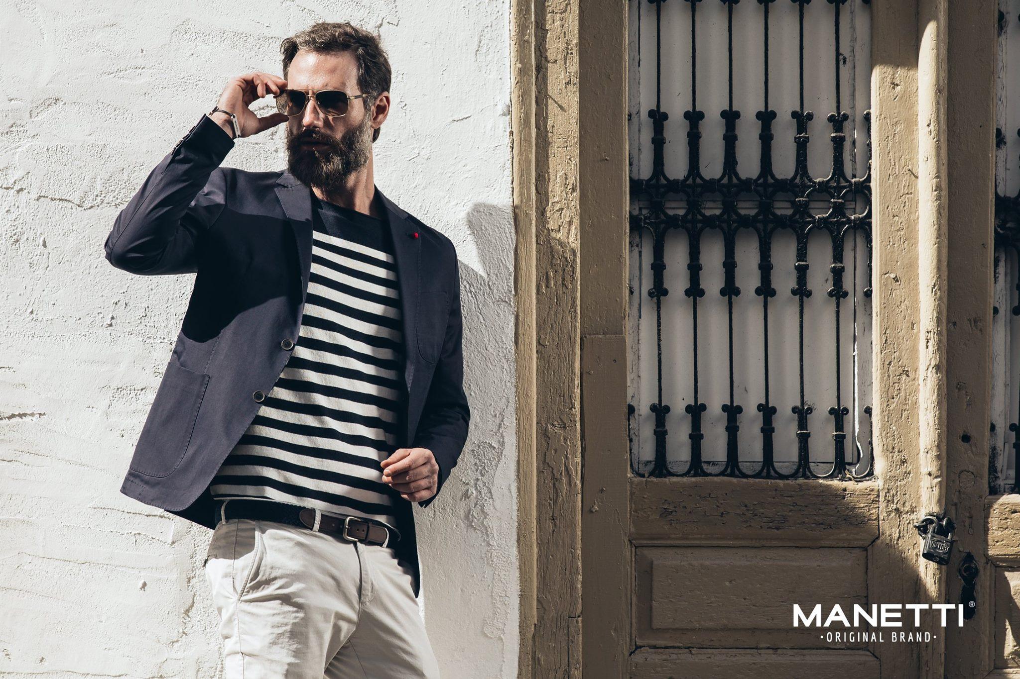 Φωτογράφιση μόδας για την ανοιξιάτικη συλλογή Manetti.