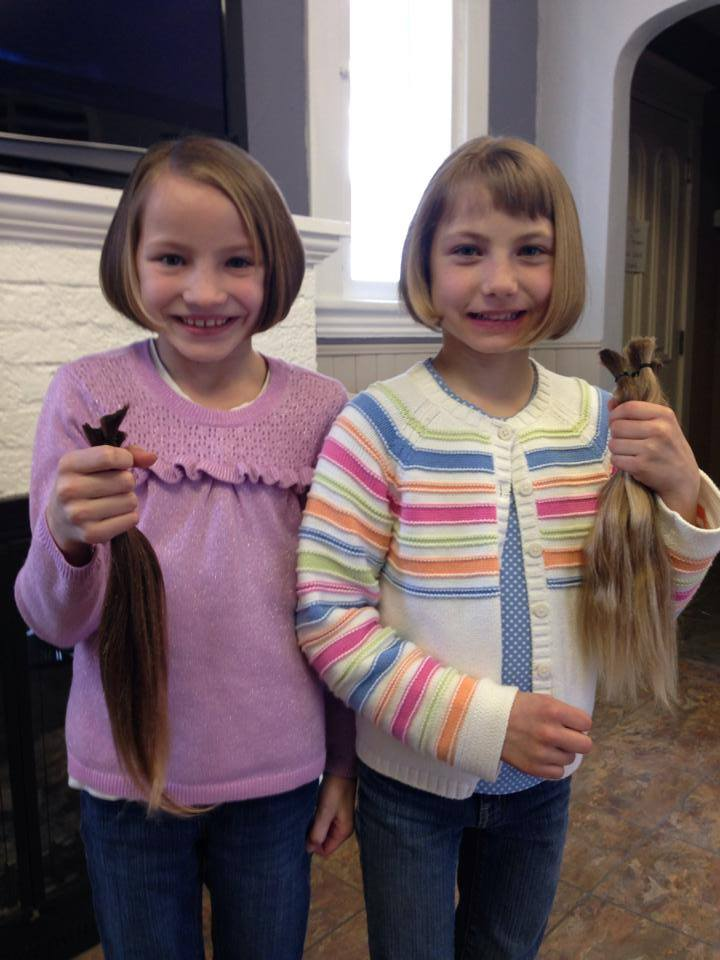 Wigs 4 Kids hair donation!