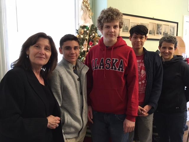 Betty Noel - Browning Students visit St. Luke outreach.jpg