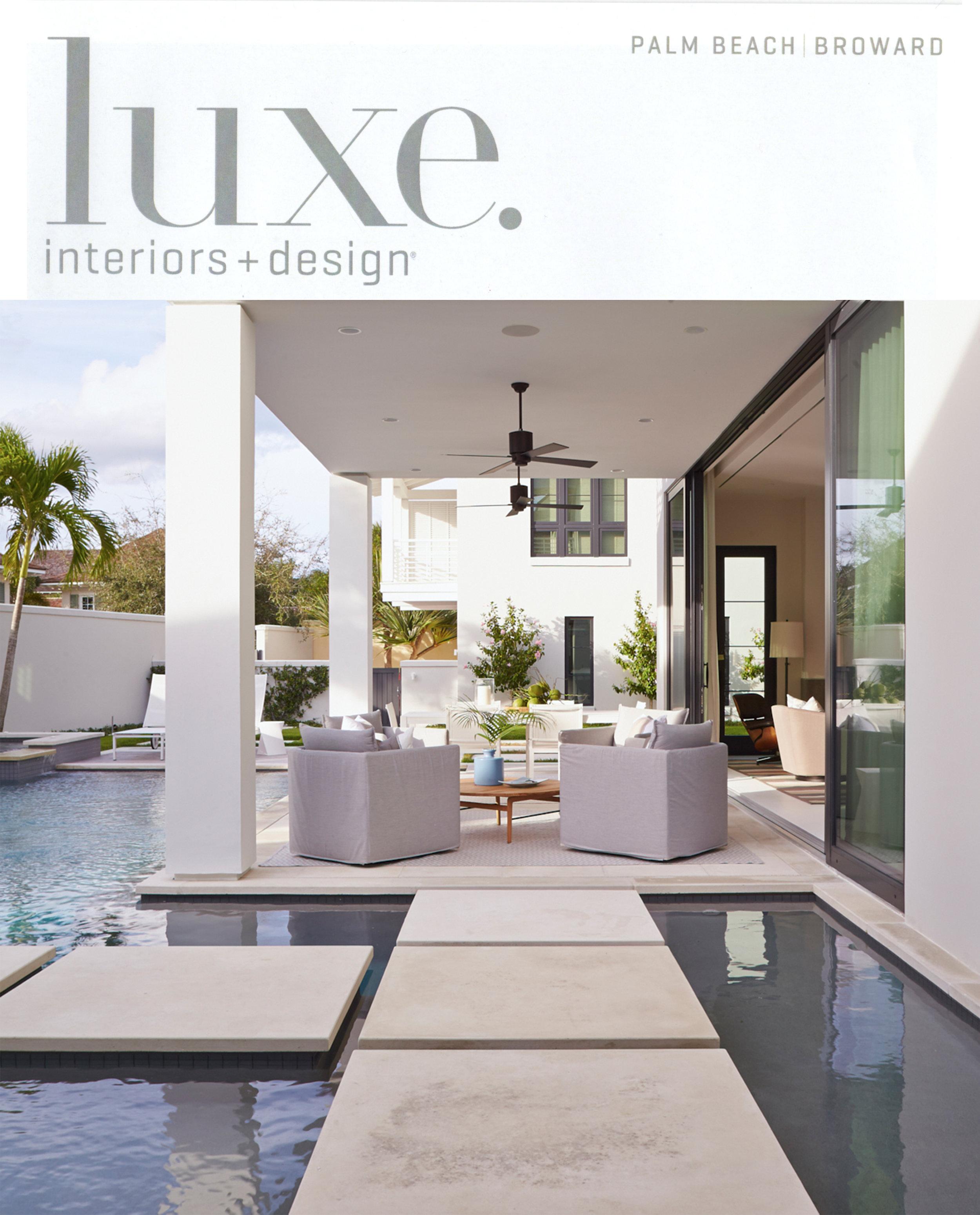 L  uxe. Interiors + Design  | July/Aug 2017 | Peak Retreat