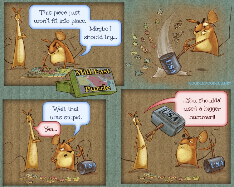 Source: Of Mice and Mud.  http://noodledoodles.net/2014/06/19/all-the-kings-horses-and-all-the-kings-men/