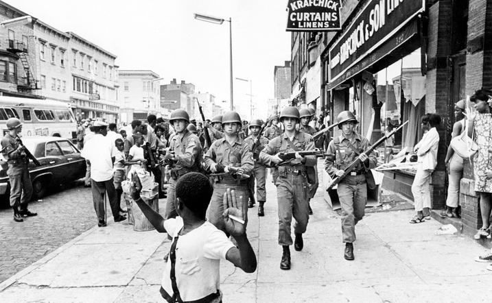 Detroit, 1967. #HandsUpDontShoot
