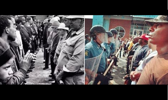 """1964 and 2014. 50 years of """"progress""""."""