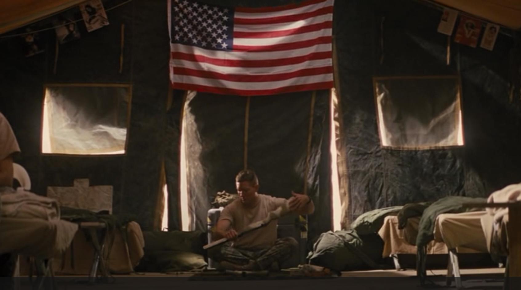 "Jack Reacher's ""American Sniper"": James Barr, played by Joseph Sikora."