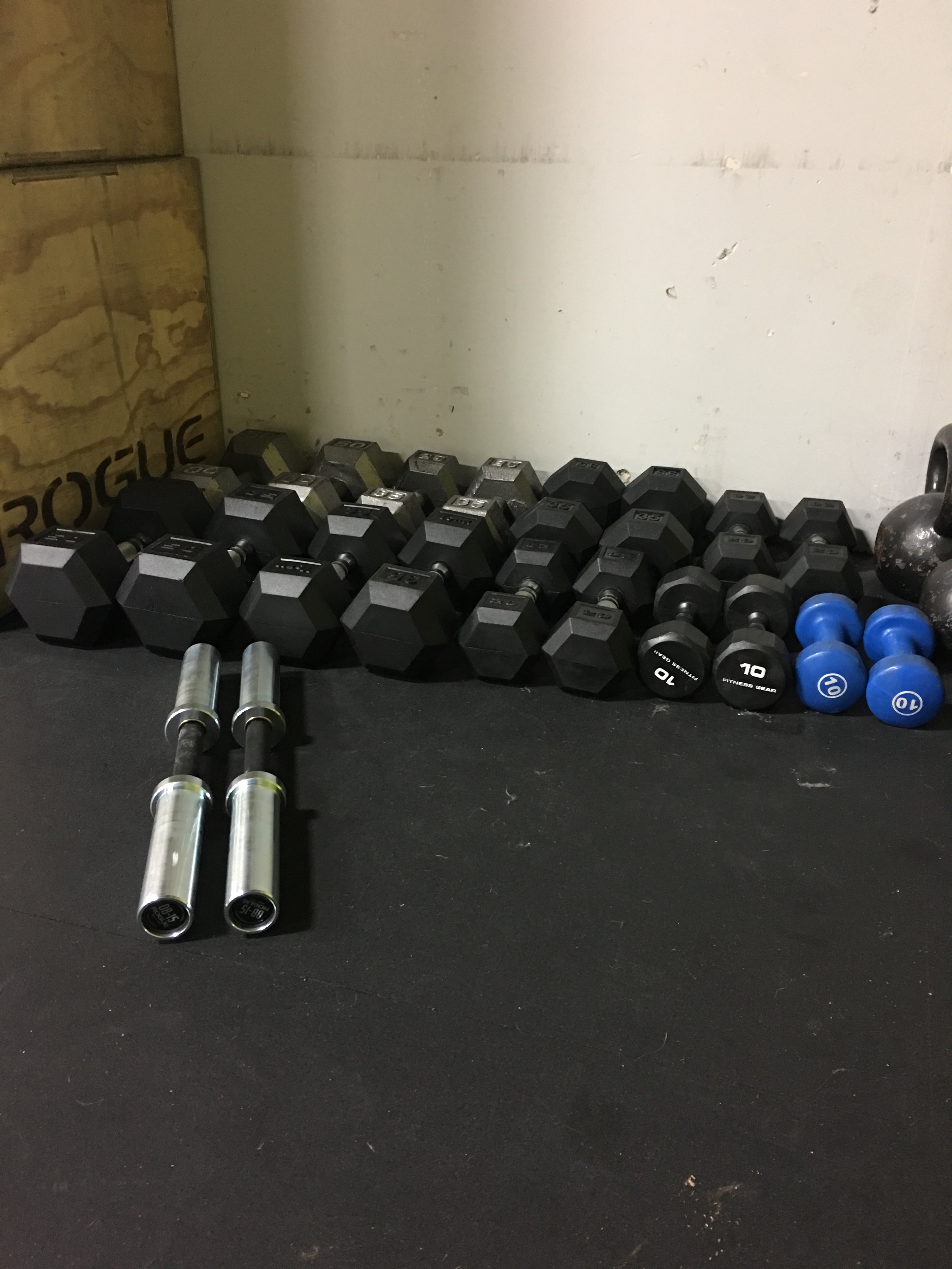 Dumbbells are in! Get ready, lots of dumbbell work coming to Bolster in the next few weeks.