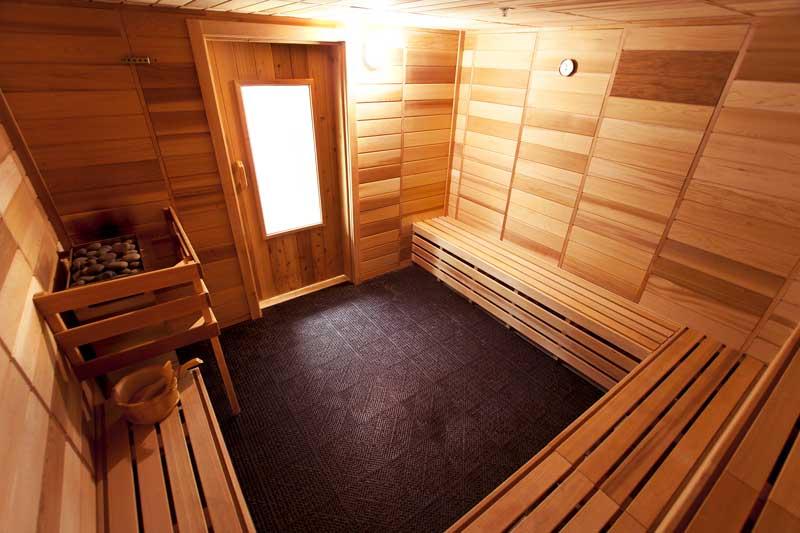 Eco-Sauna Commercial Retro fitting sauna installation