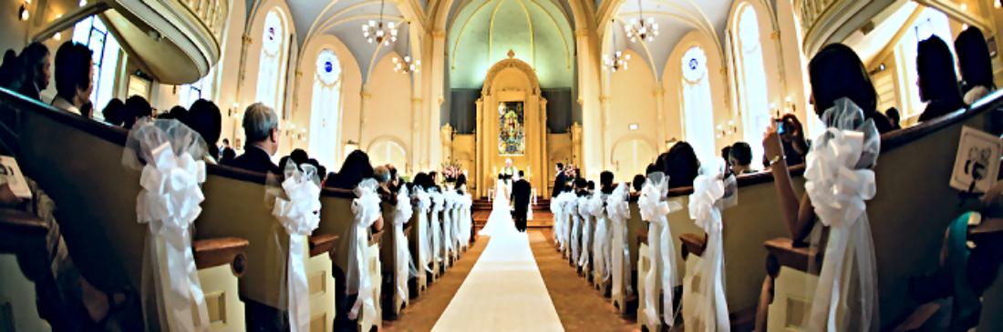 Wedding in St. Mark's Sanctuary