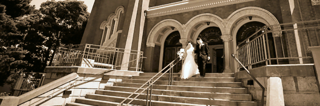 Recessional at St. Mark's Wedding