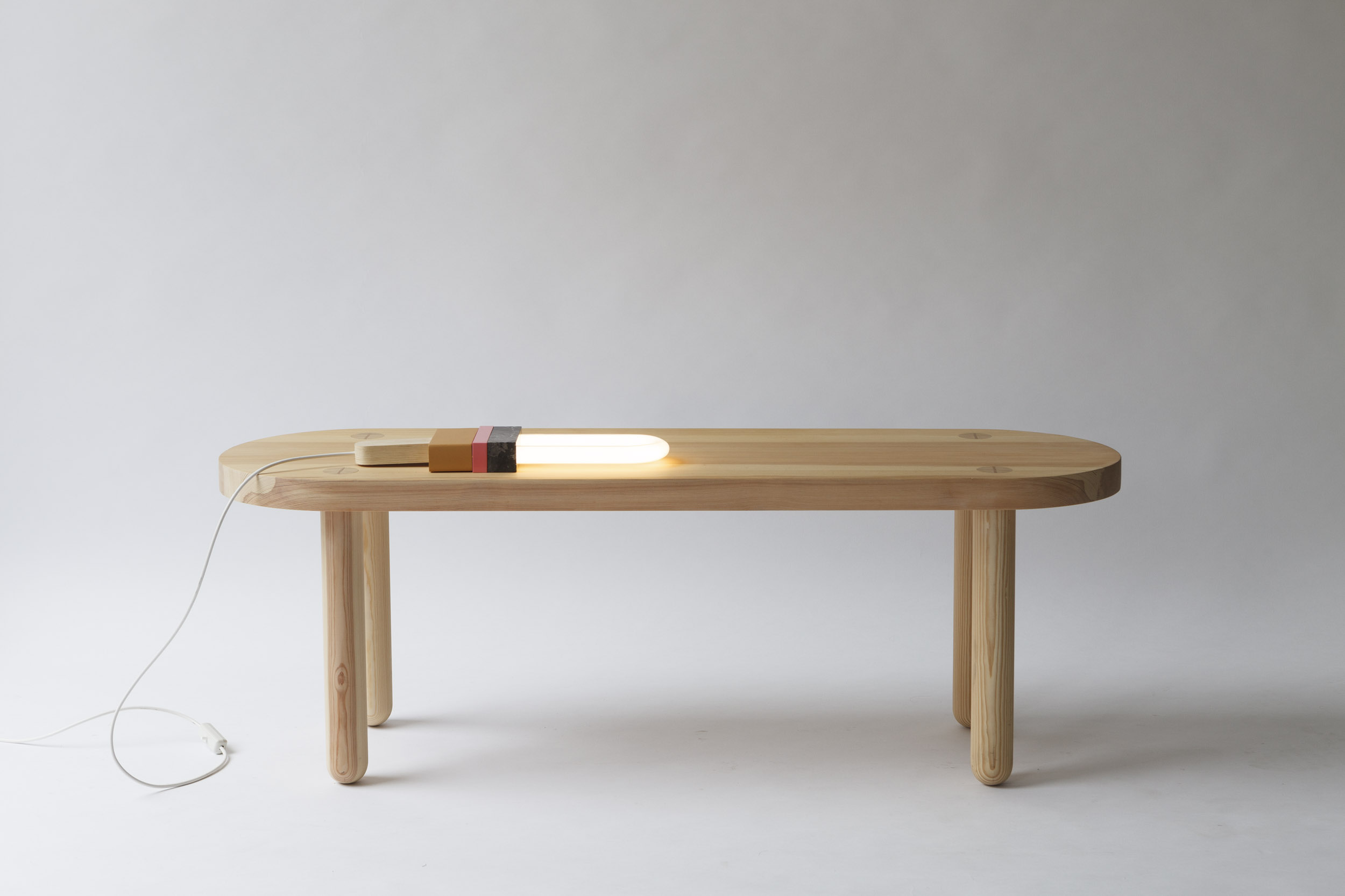 BENCH MUTE,  SOLID WOOD, OILED  40 x 1300 x 45cm