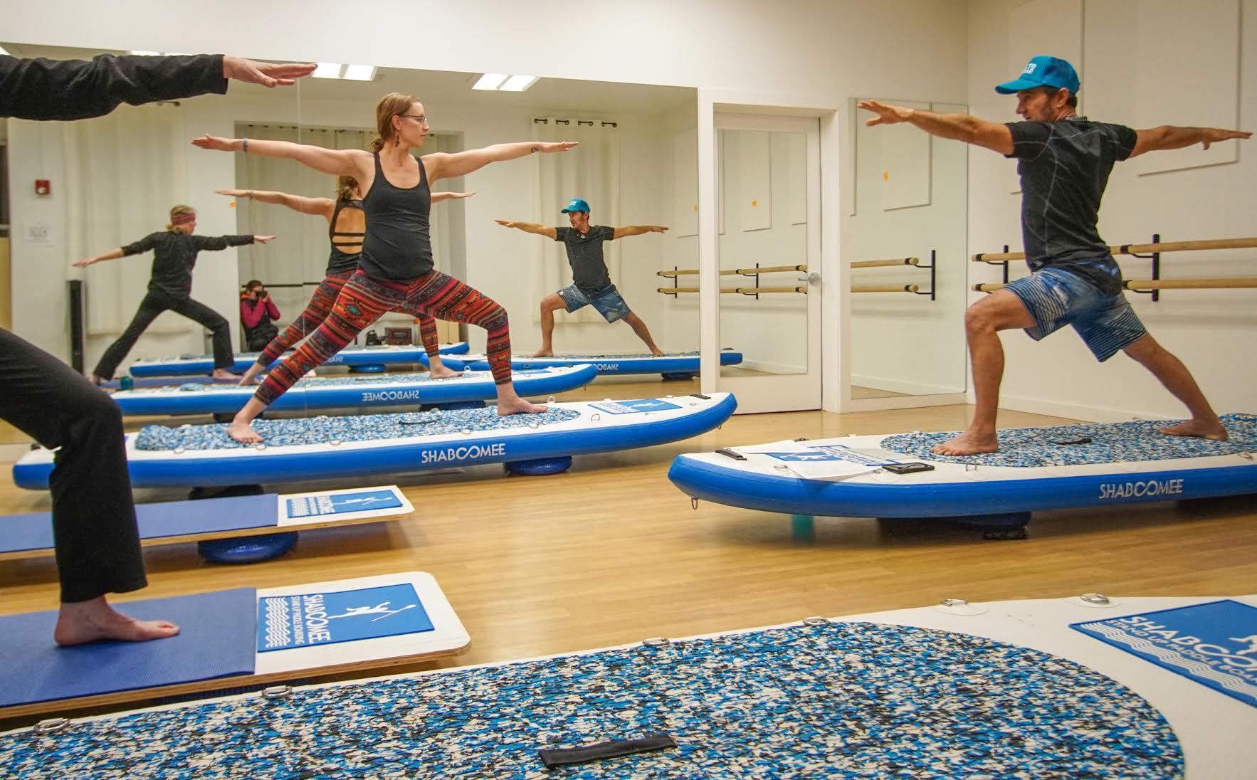 yoga balance training