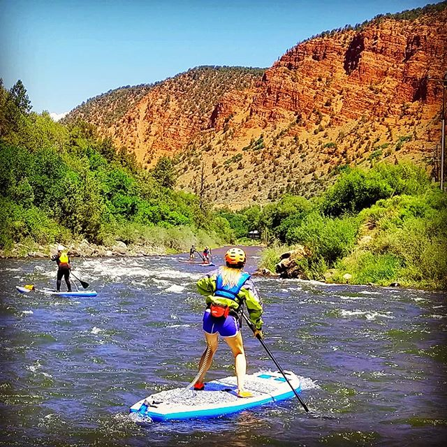 By day 29 you can start looking up from the rapids and really admire the beauty of our little valley... but, then, you know, look at the rapids again... #yestoadventure #supyes #shaboomee #100daysonaSUP #GLOSSY