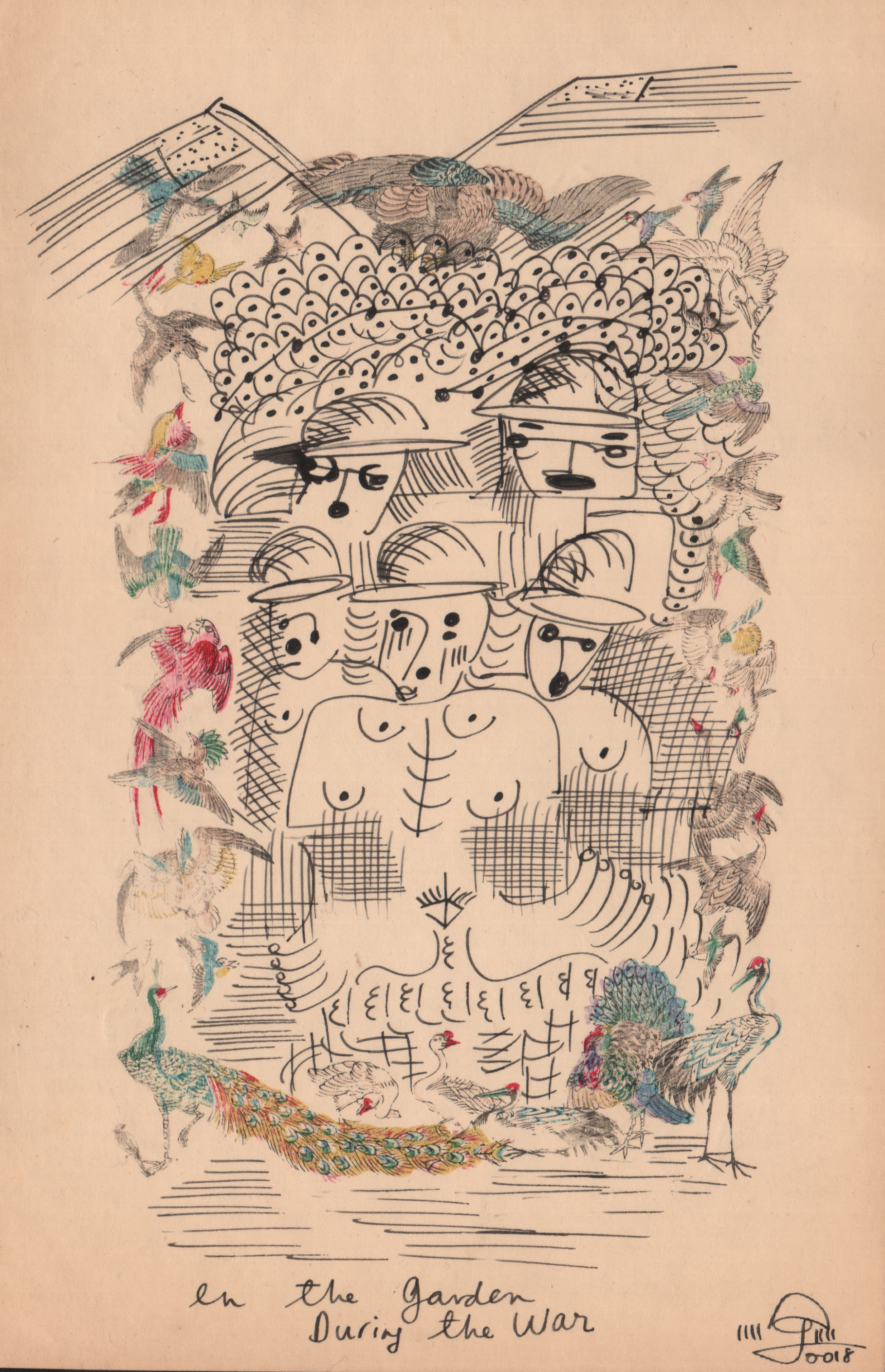 Untitled #3, In The Garden During The War