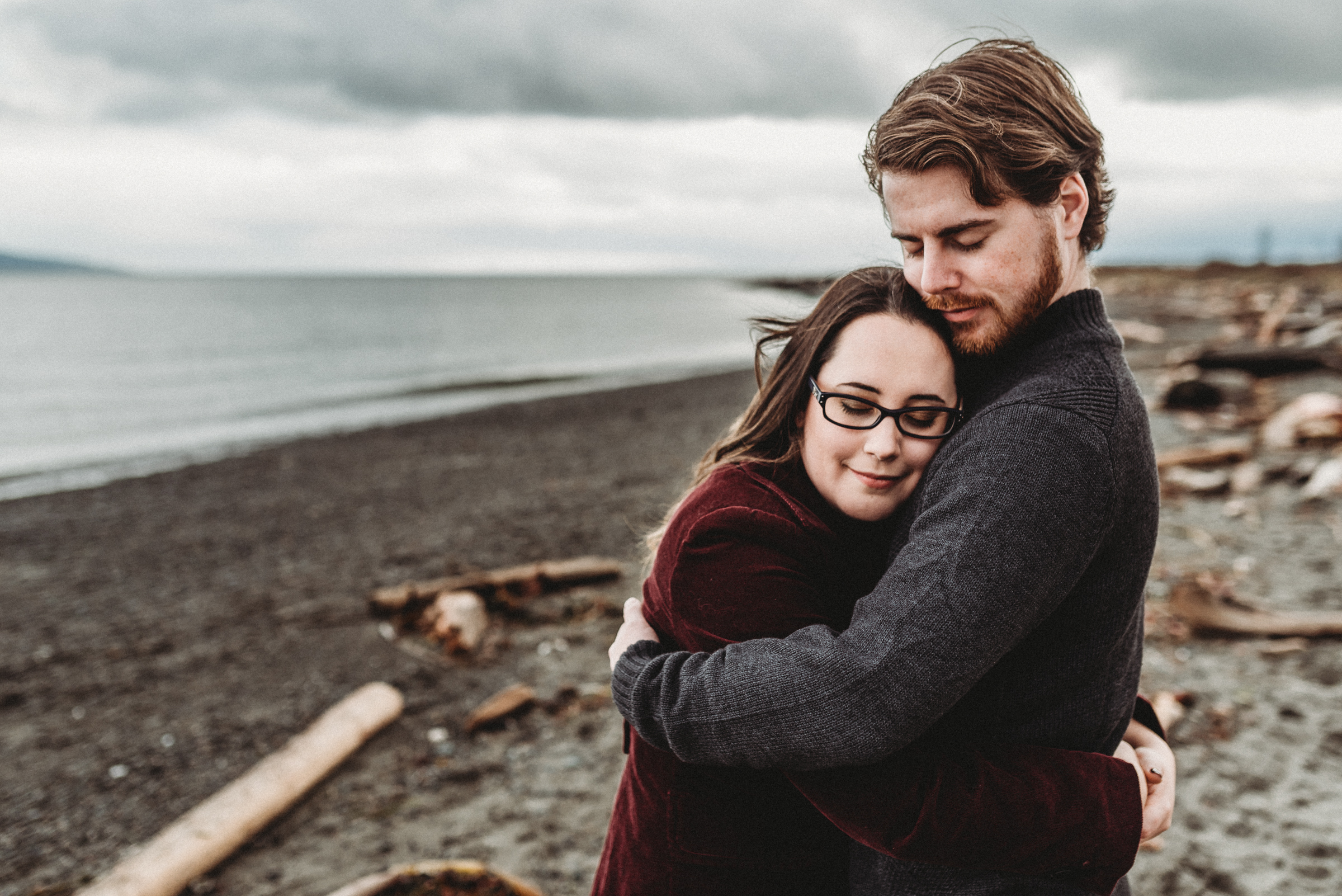 JEN + DAN // ISLAND VIEW BEACH ENGAGEMENT SESSION