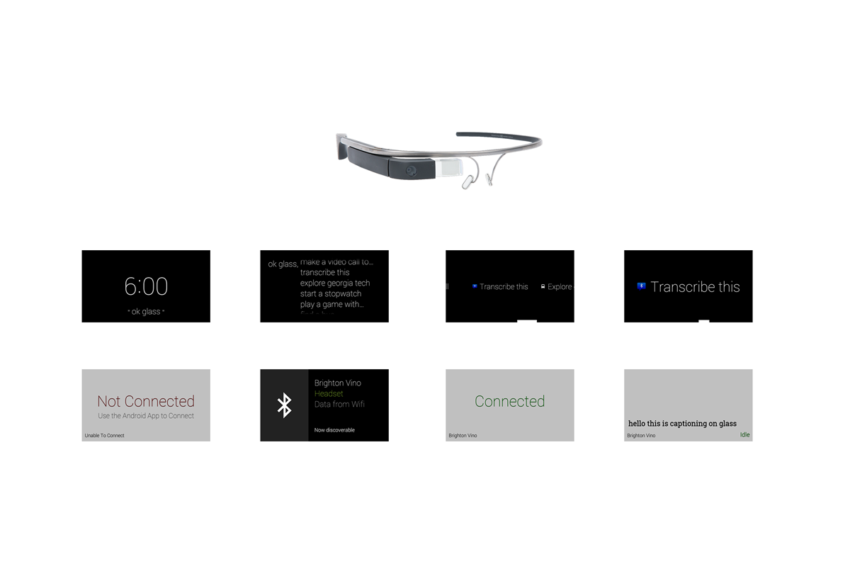Google Glass Application