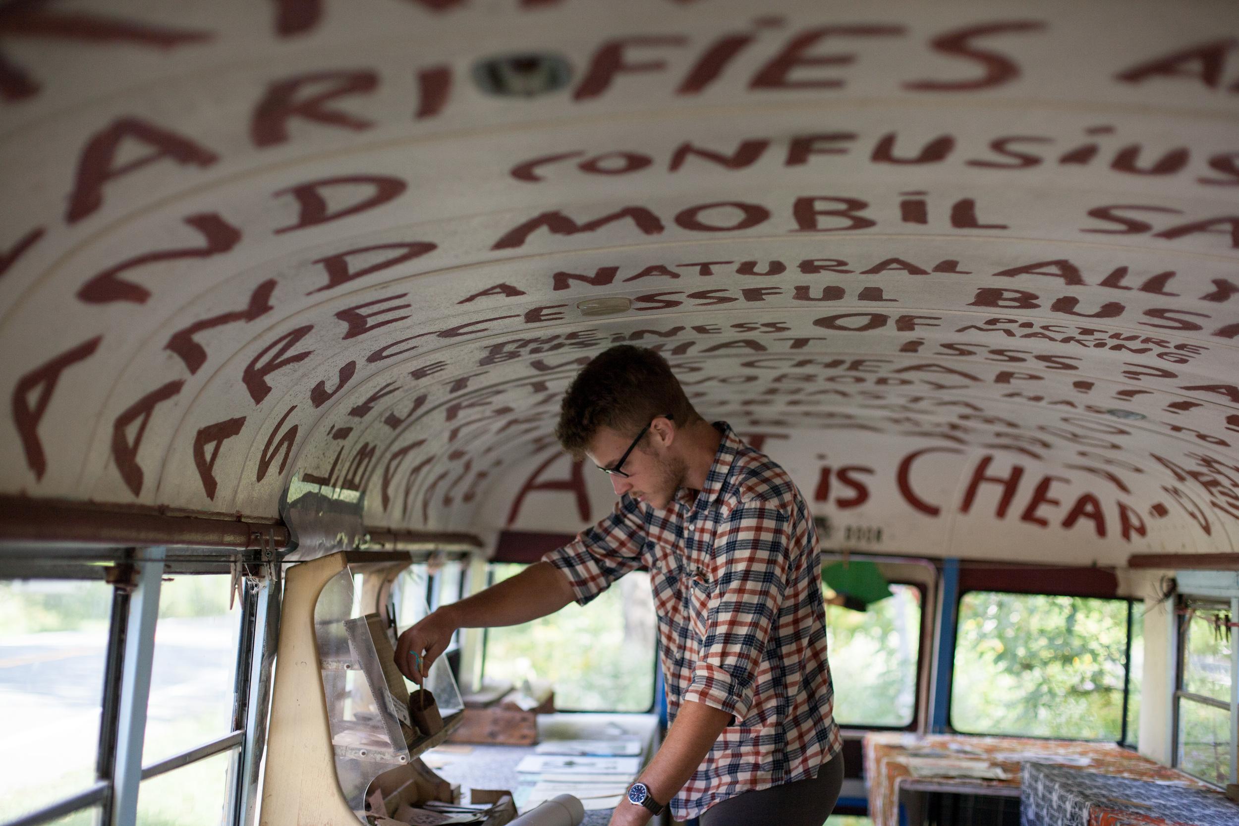 The B & P Cheap Art Bus