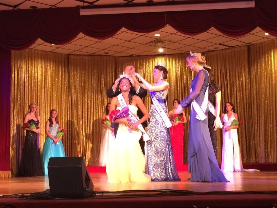 My crowning moment!! The most amazing part? My husband got to crown me :-)