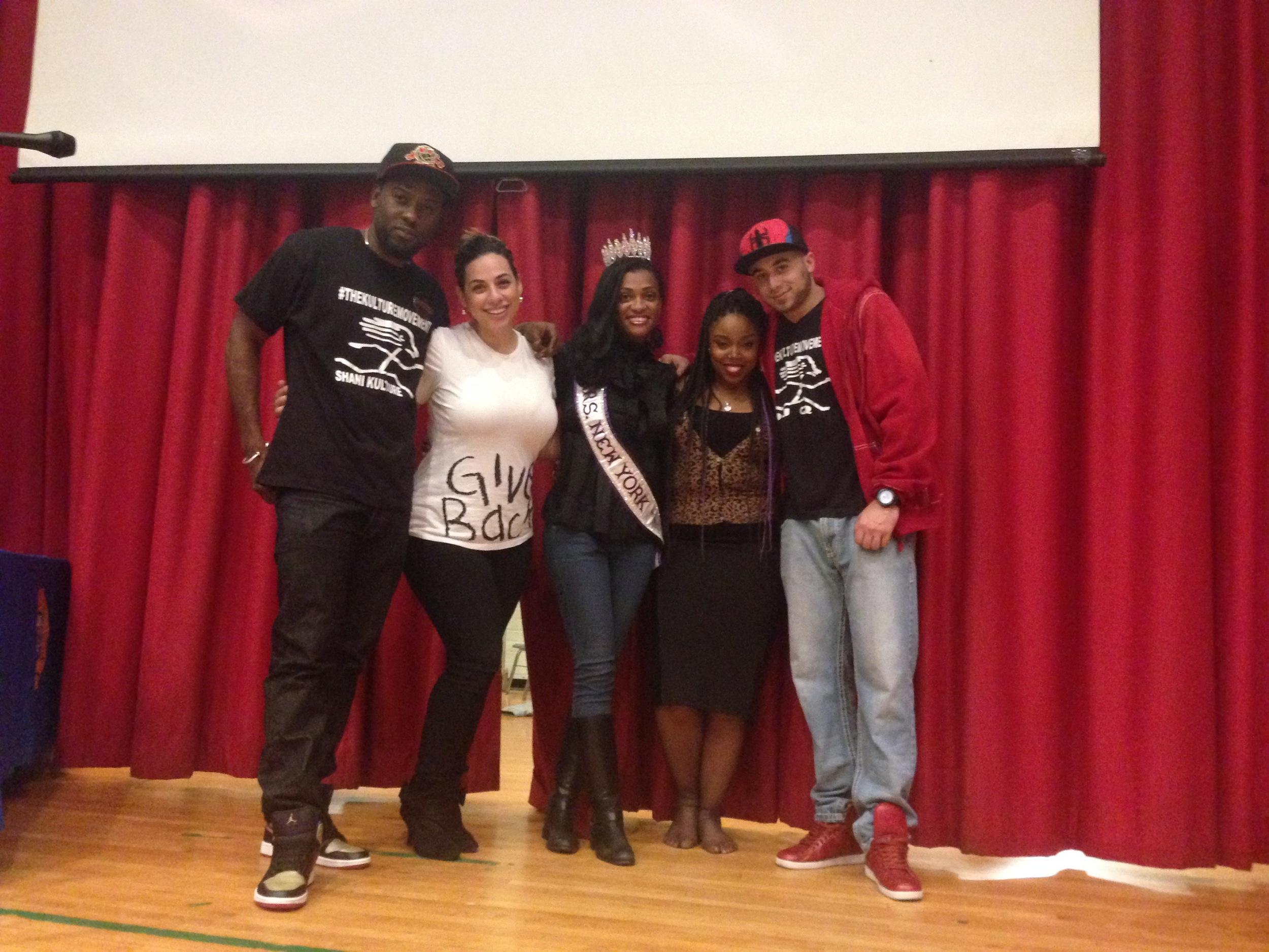 Shani, Marjoriet, Marjorie, Roxie Digital, and DJ Q