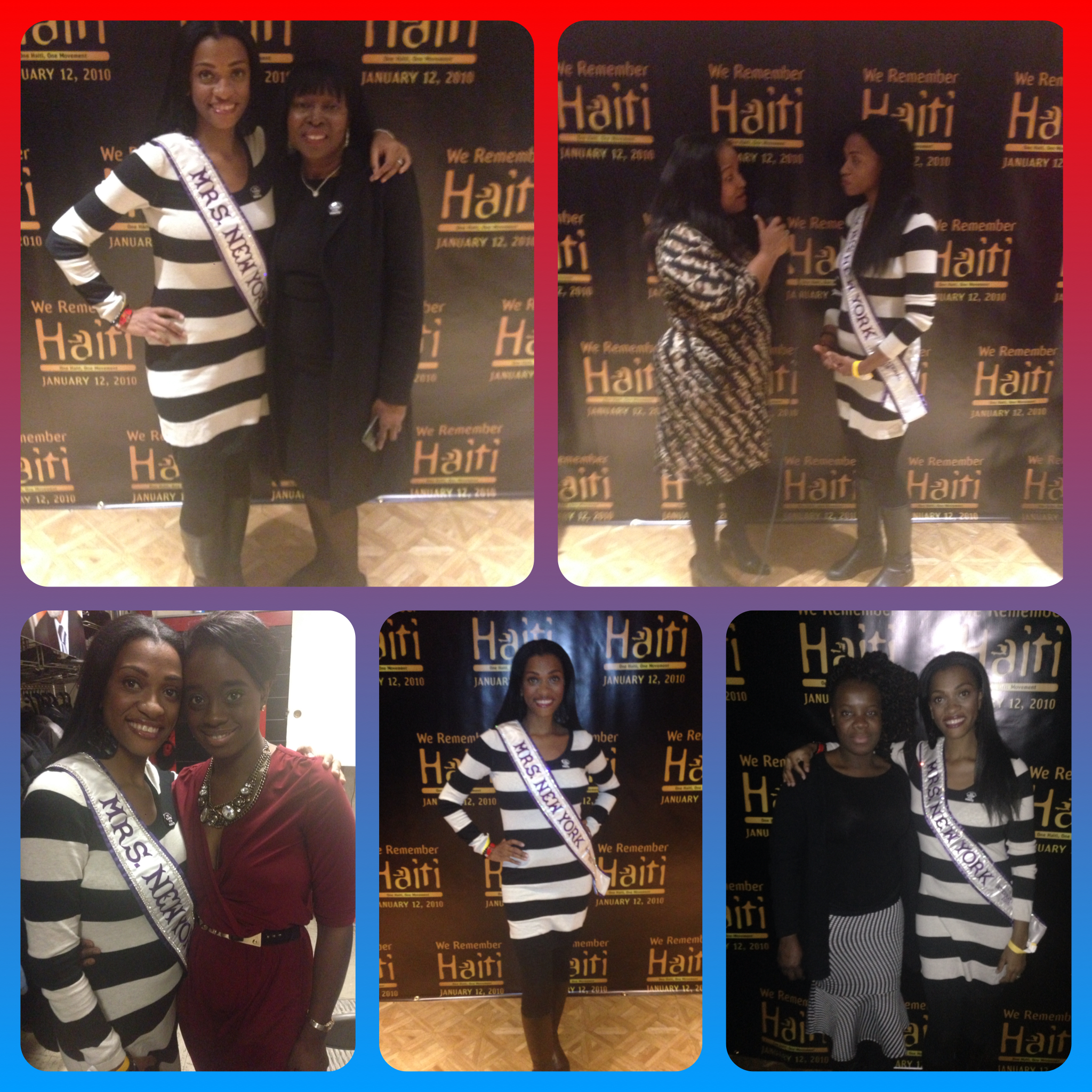 Hanging with some awesome women! Margarette Tropnas (my cousin), Being interviewed by Monalisa J. Ferrari, Jihan Antoine co-founder of BelTiFi, Nadege Fleurimond, Chef and author of Haiti Uncovered