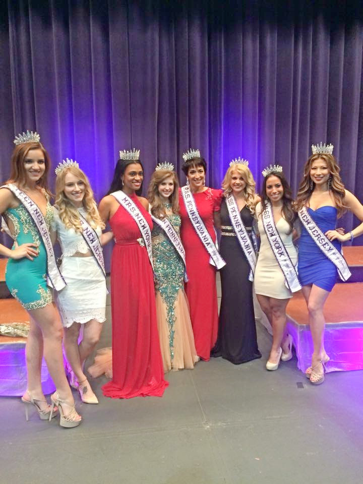 The new Pennsylvania Queens, the 2014 New Jersey Queens and the 2015 New York Mrs. and Miss