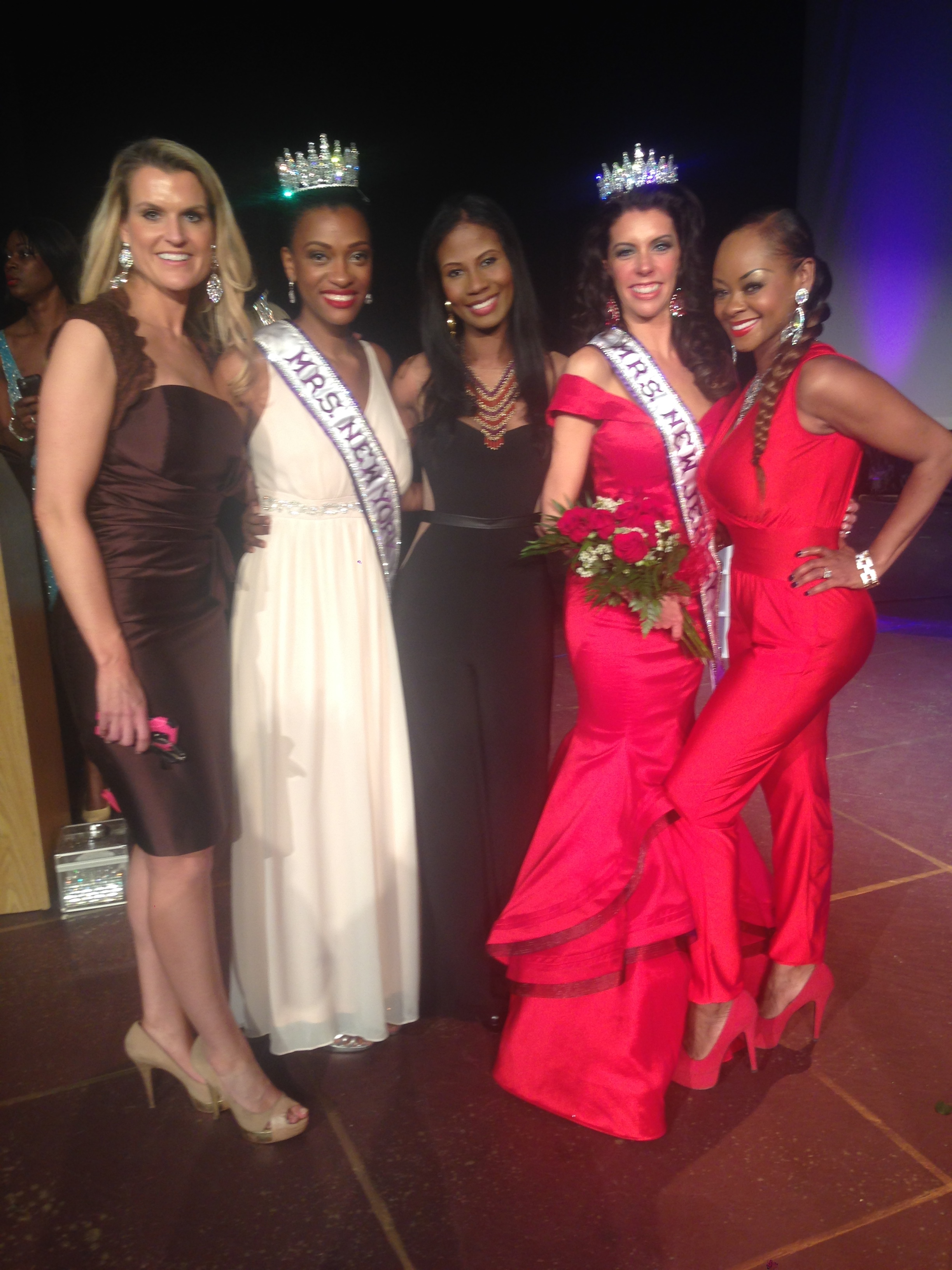 With the newly crowned Mrs. New Jersey Queen Amber Rae Mack