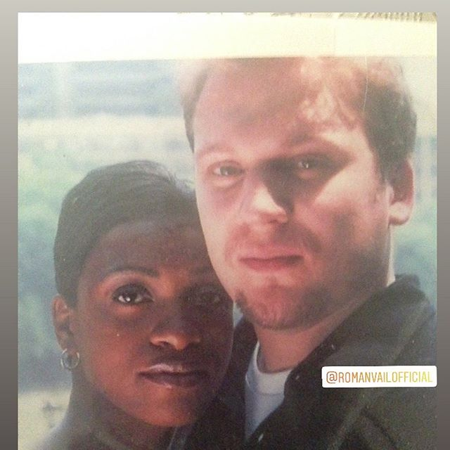 17 years married today! Thanking GOD for this awesome person in my life. #anniversary #married #loveislove #interracialcouple #bestfriends #younglove