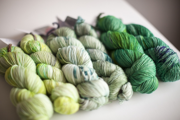 Colors (from left to right, one in each base): Juniper, Cloud Hopper, The Other Side