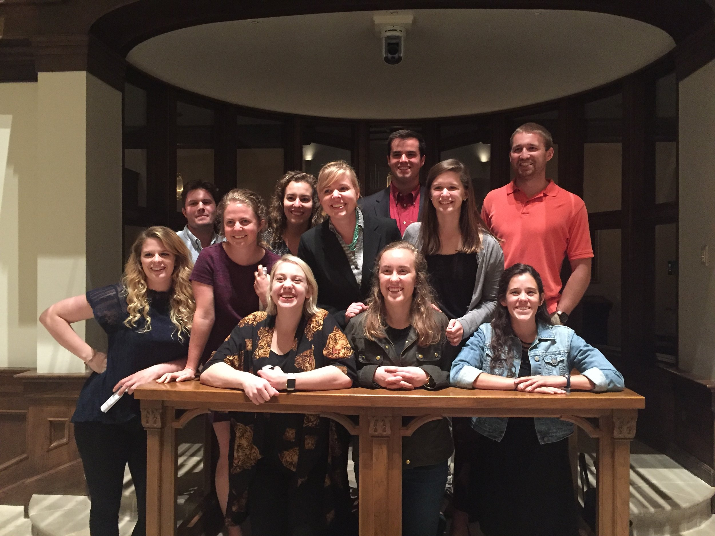 Nashville Fellows at St. George's Episcopal Church's Maundy Thursday service
