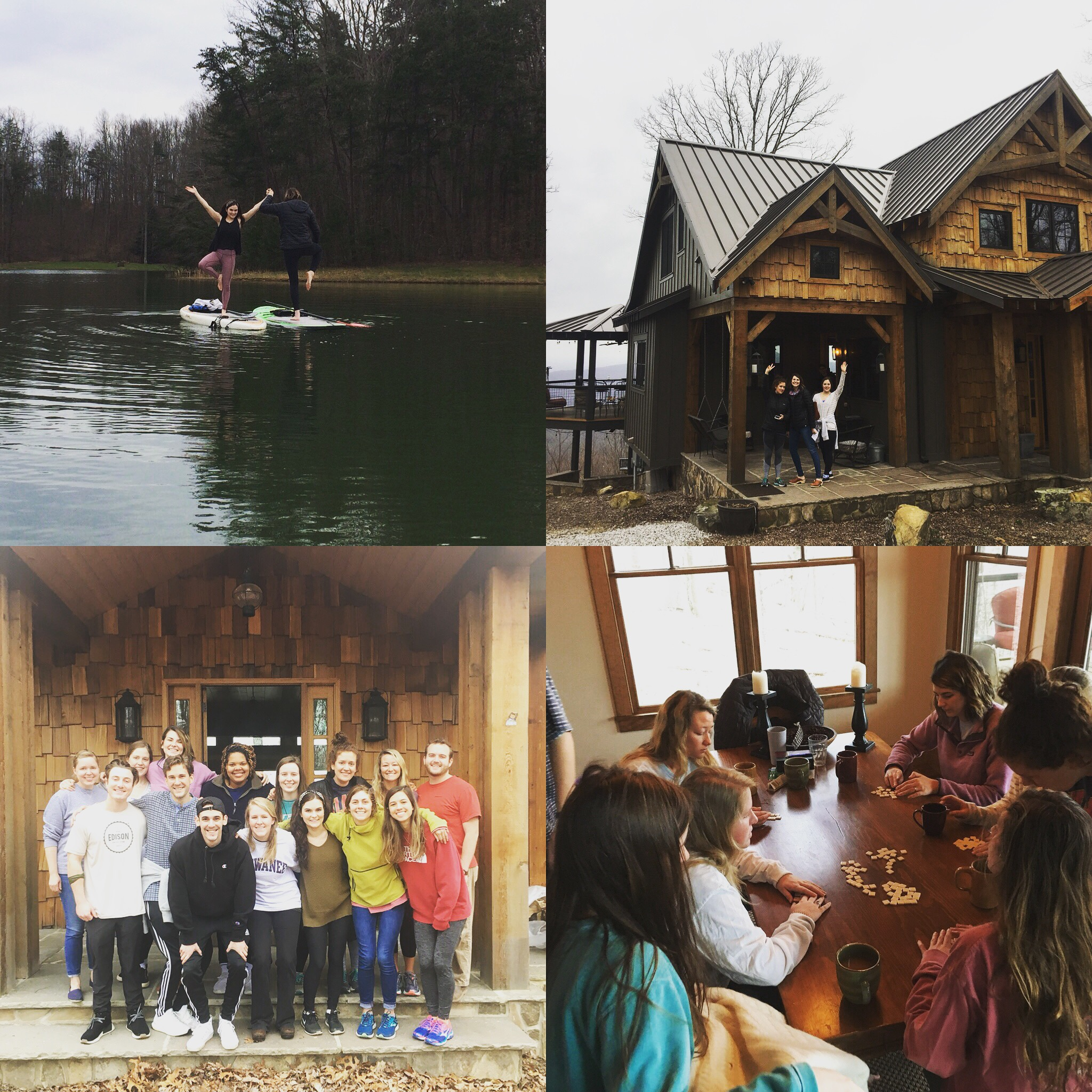 In March we went on a retreat focused on ending the program well together.