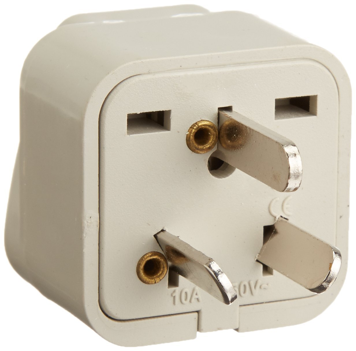 If you have lots of electronic toys, you will want to bring a few of these adapters .