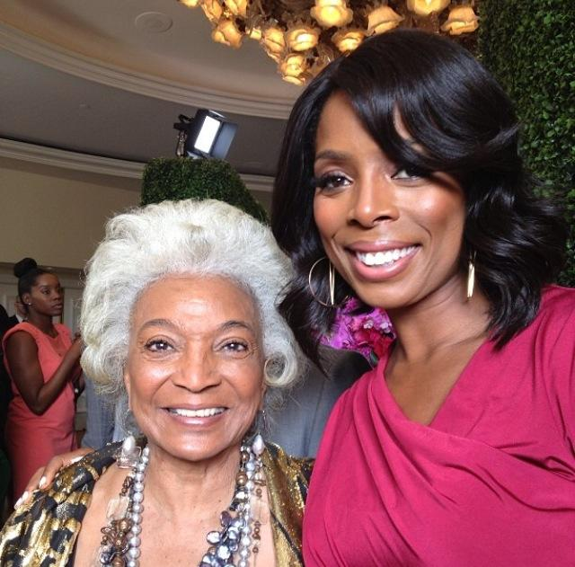 Nichelle Nichols and Tasha Smith!