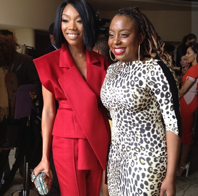 Brandy with Ledisi!