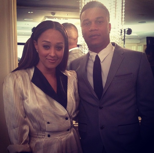 Tia Mowry-Hardrict and Cory Hardrict