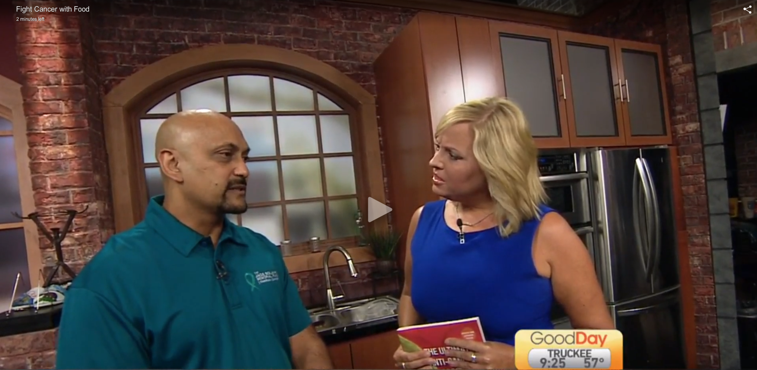 Click here to be taken to the Good Day Sacramento website and view the entire clip.