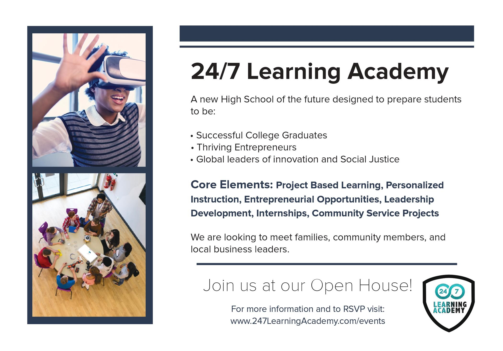 24/7 Learning Academy, A New Private High School in Orlando Florida