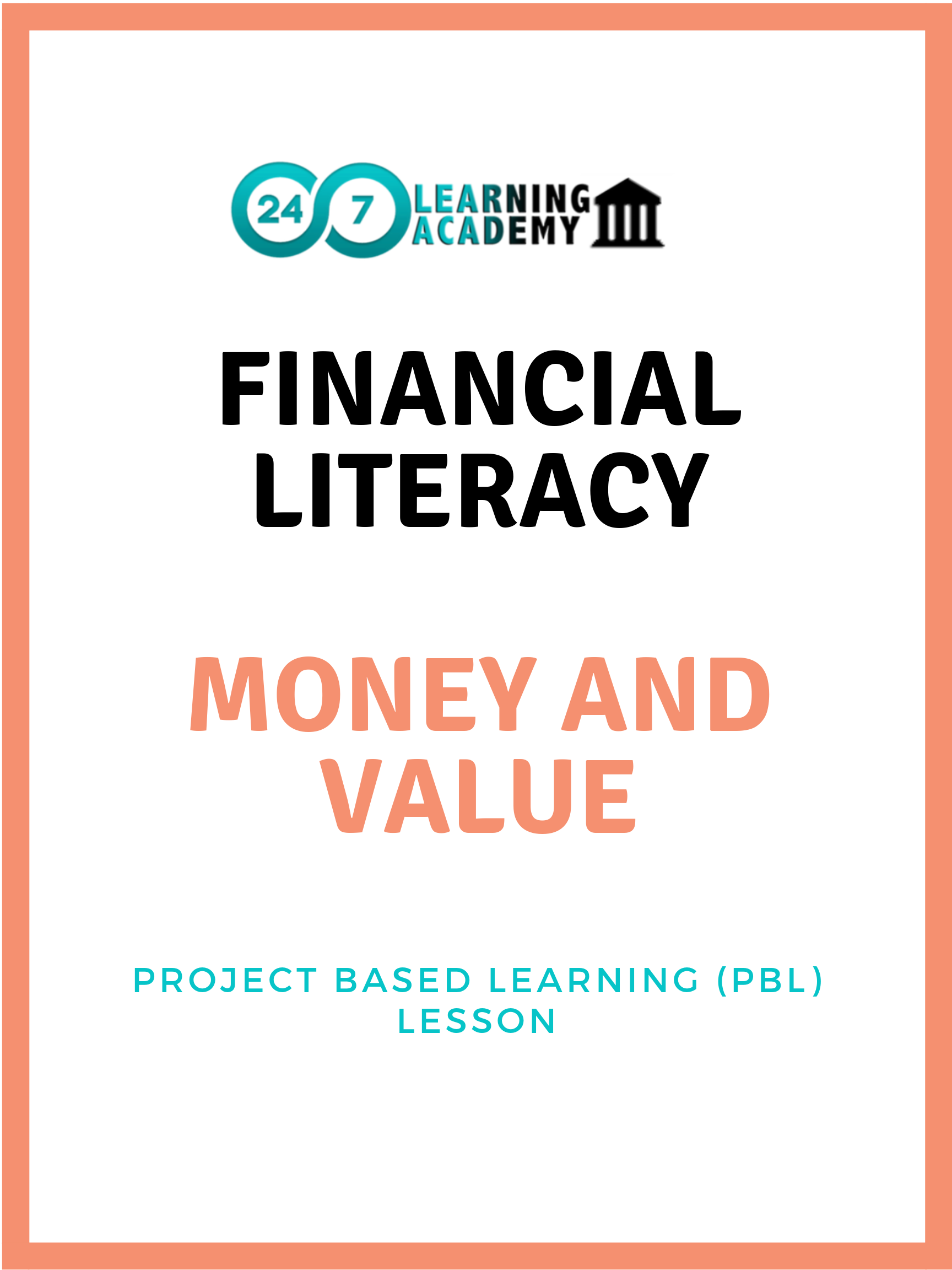 Financial Literacy - Lesson