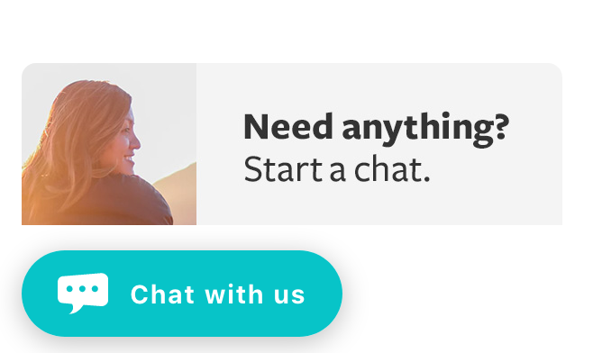 Click the chat icon below to get support.