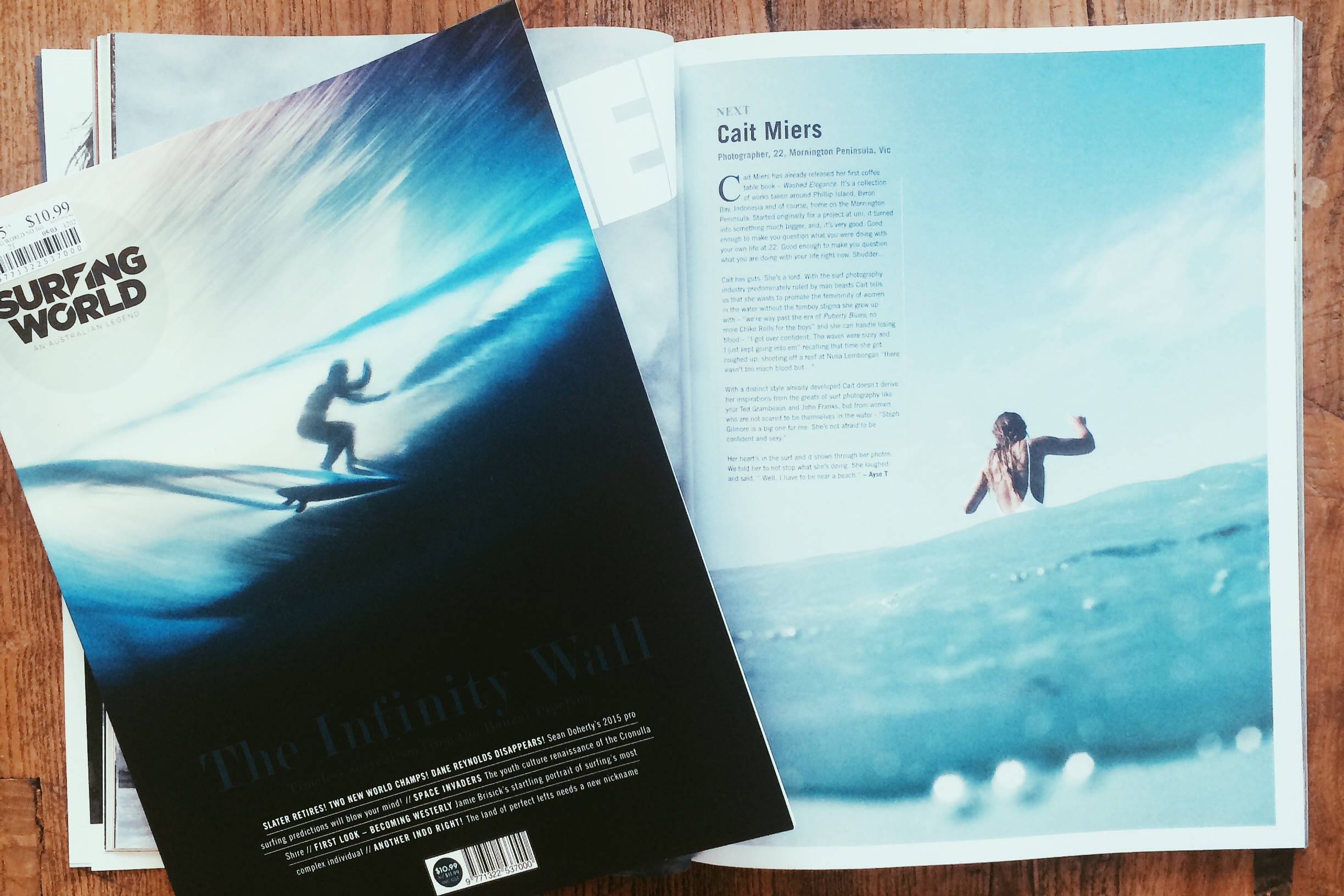 Surfing World, Issue 360, April 2015