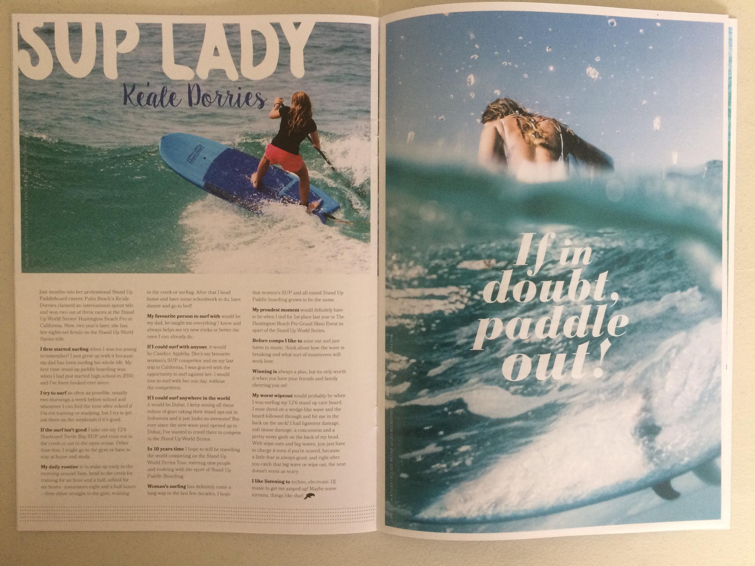Sunshine Surf Girls Magazine, Issue #2, Autumn 2015