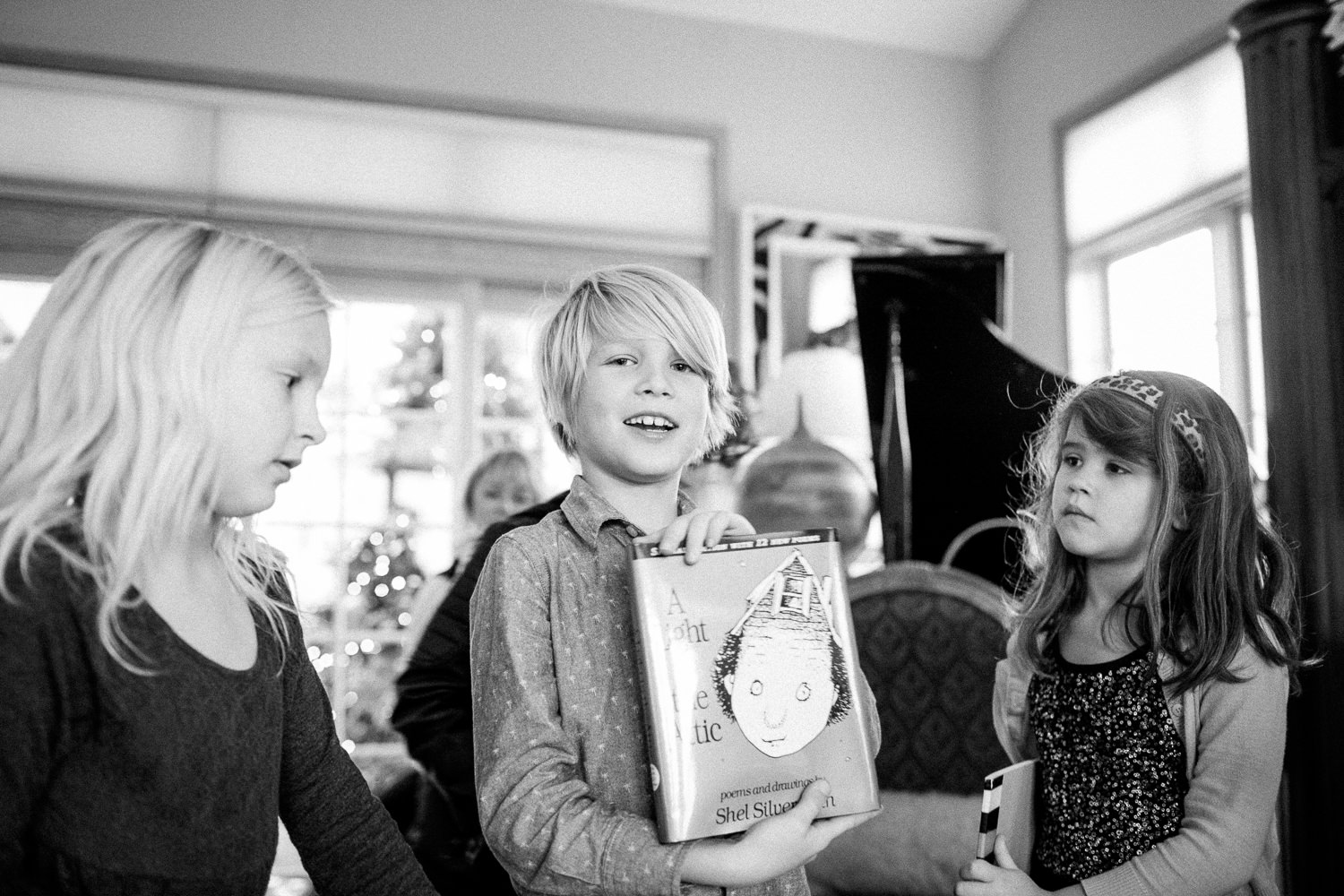 Christmas with the Baron family in Bow, WA. December 2015.