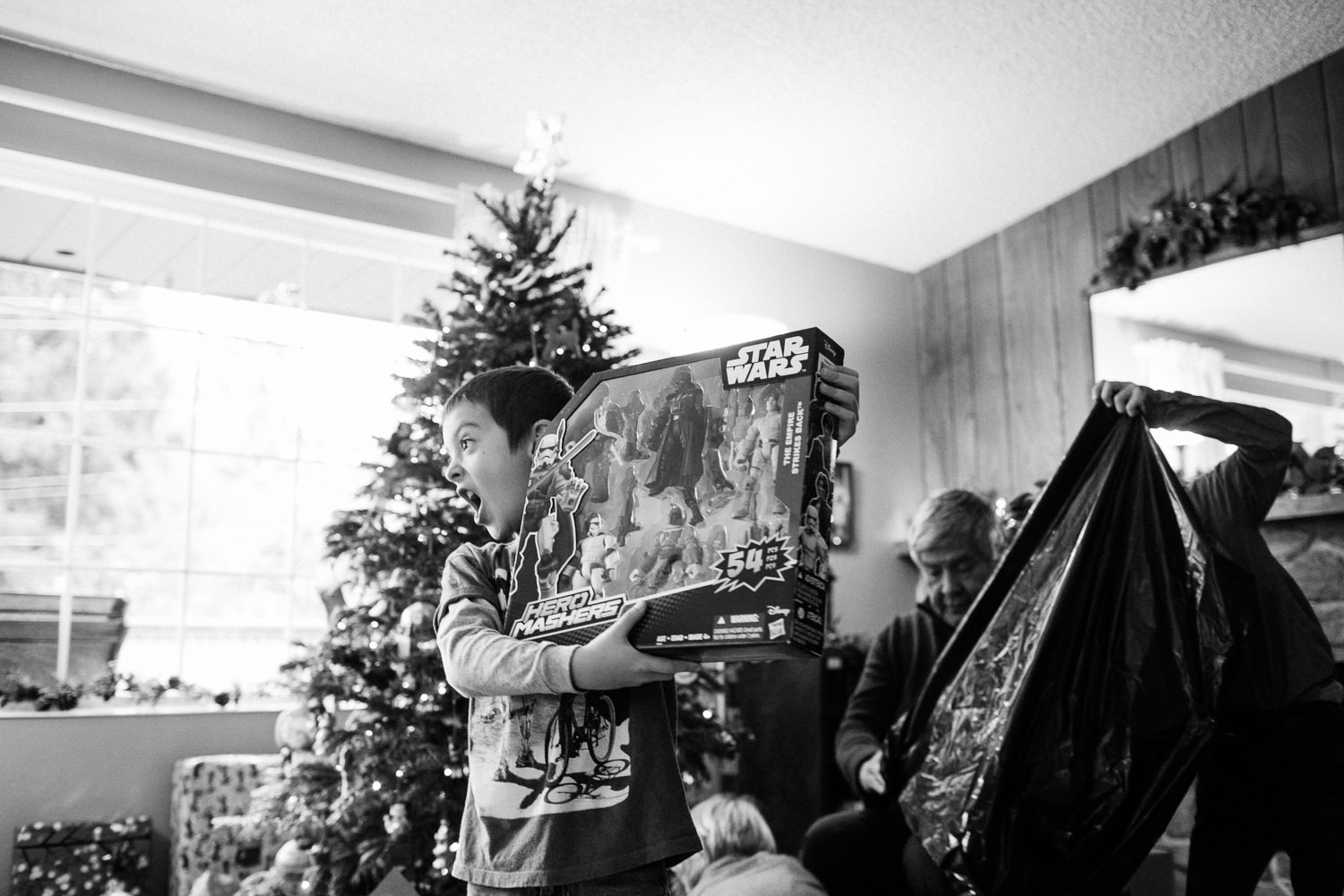 Rodriguez Christmas in Marysville, WA. December 2015.