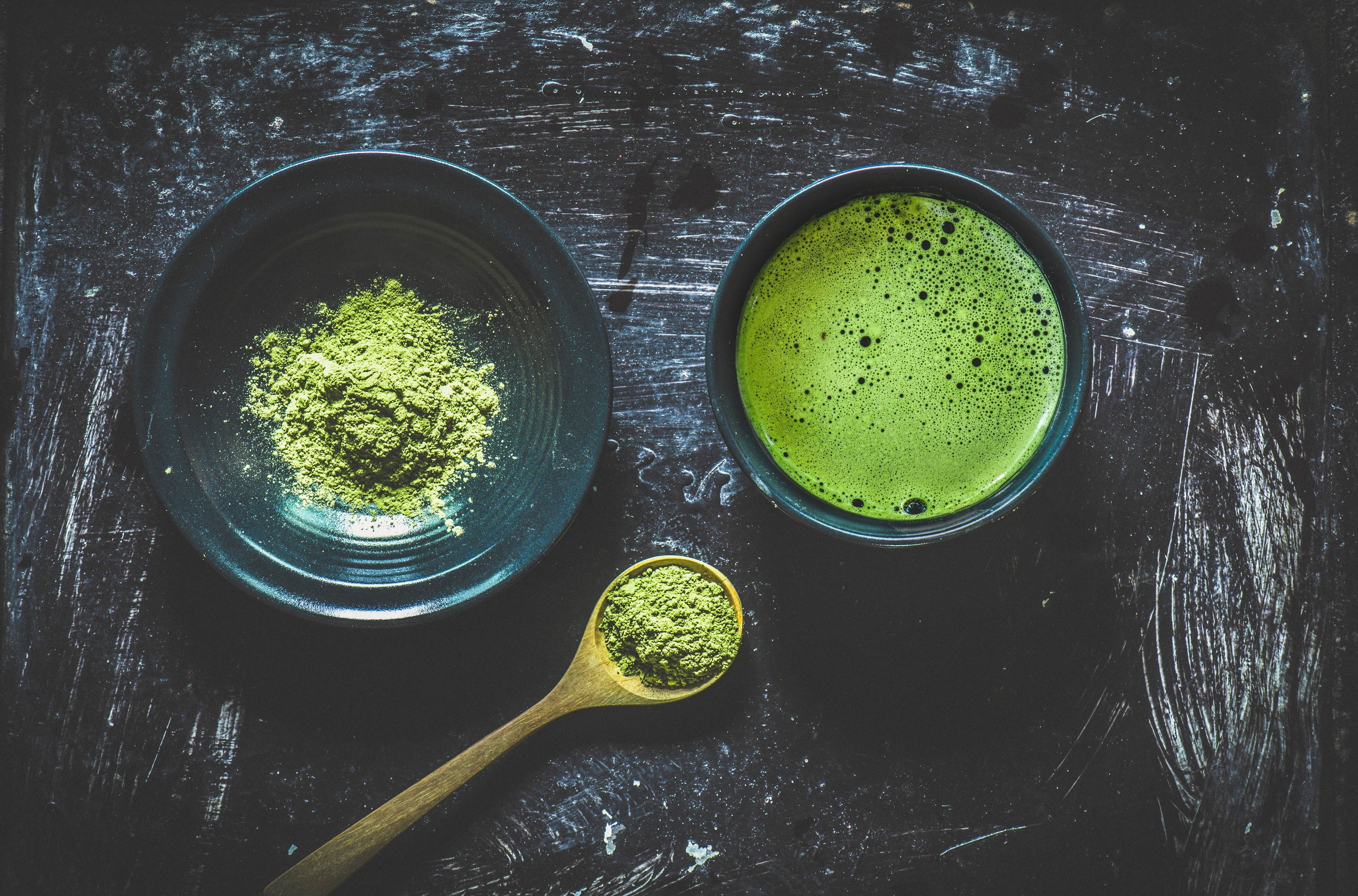 Matcha - A clean caffeine source and so much more! Demo and tasting by T-We Tea