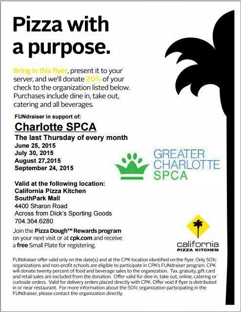 Pizza With A Purpose Greater Charlotte Spca