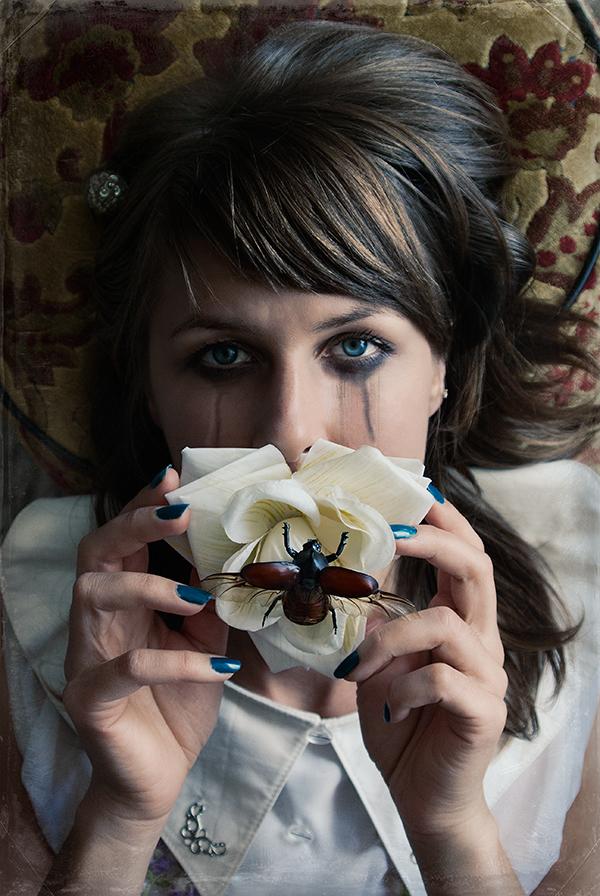Taxidermist Lucia Mocnay.Photography by Aglaia B.