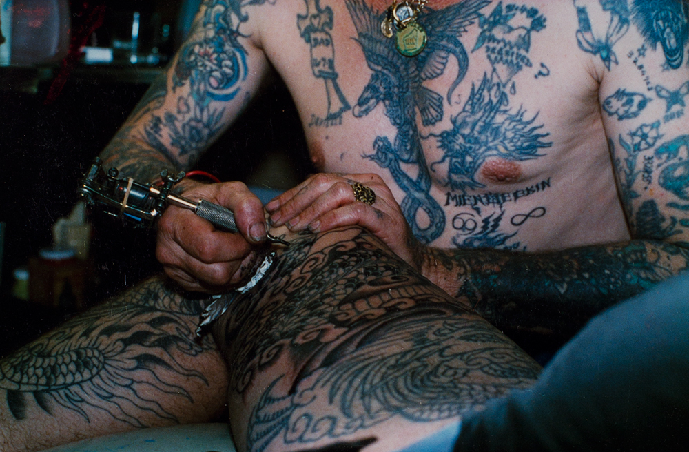 Ricky Luder  (The 4th Wall, stories of tattoos & body modification, by Fareed Kaviani: www.the4thwall.net)
