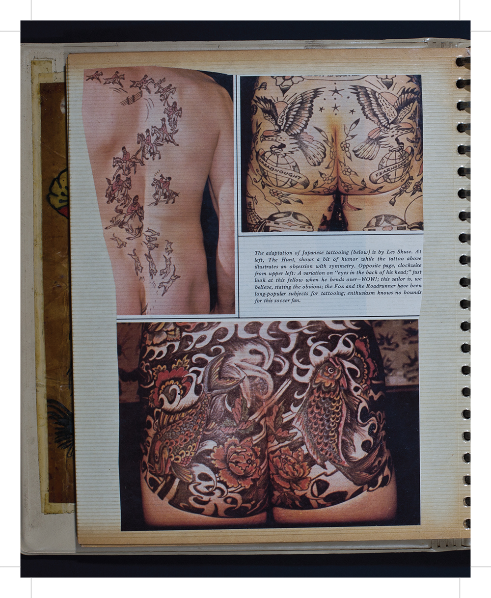 Australian Tattoo history  (The 4th Wall, stories of tattoos & body modification, by Fareed Kaviani: www.the4thwall.net)