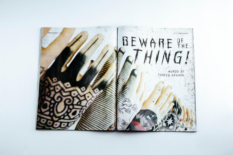 Beware the Thing! Inked magazine