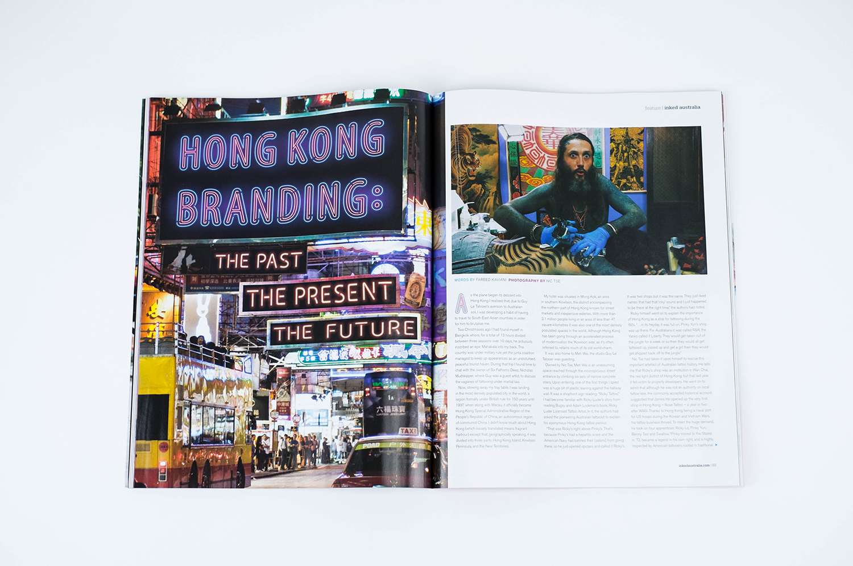 Hong Kong tattoo INKED magazine